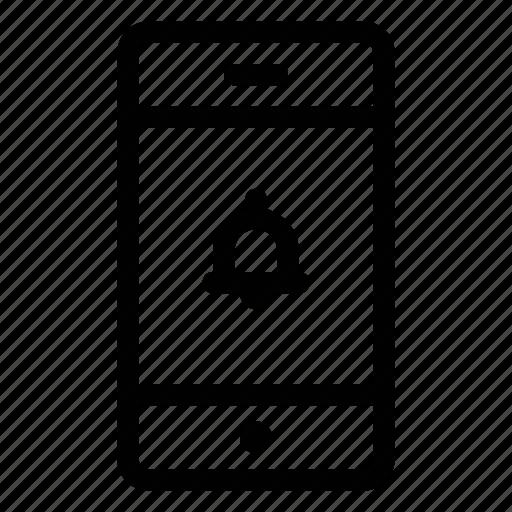 alarm, alert, bank, bell, mobile, notification, transaction icon
