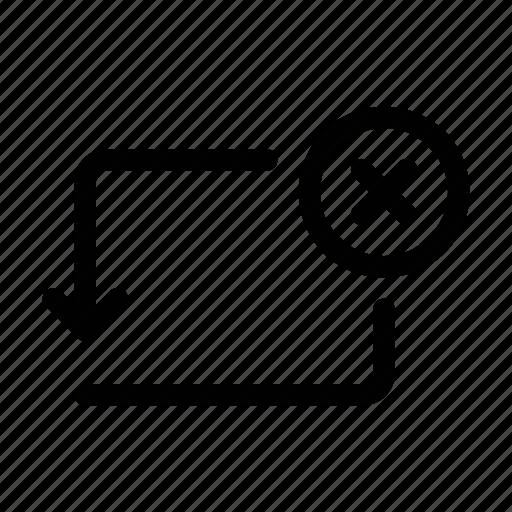 activity, bank, cancel, cross, error, transaction, transfer icon