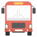bus, city bus, omnibus, tour bus, travel icon