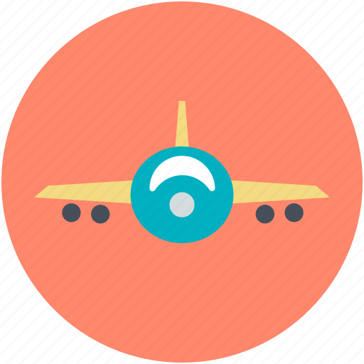 aeroplane, airplane, flight, passenger plane, plane icon