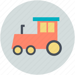 engine, locomotive, steam engine, train, travel icon