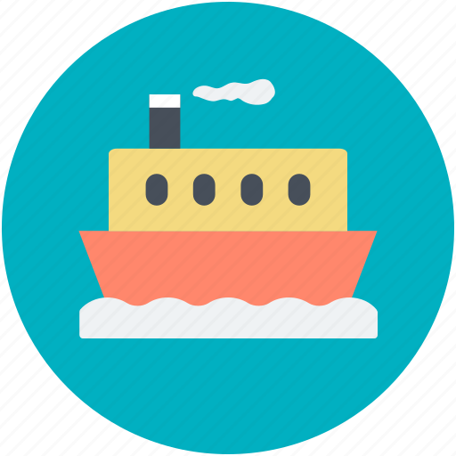 boat, cruise, ship, vessel, vessel ship icon