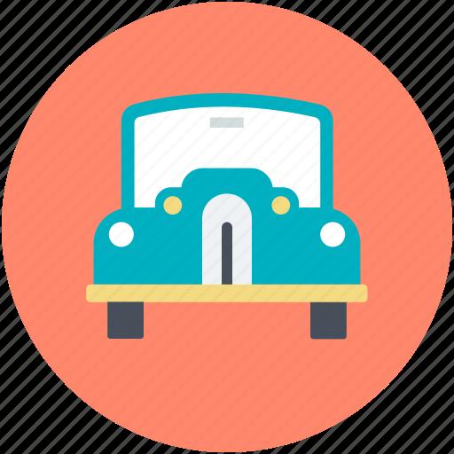 automobile, retro car, transport, vehicle, vintage car icon