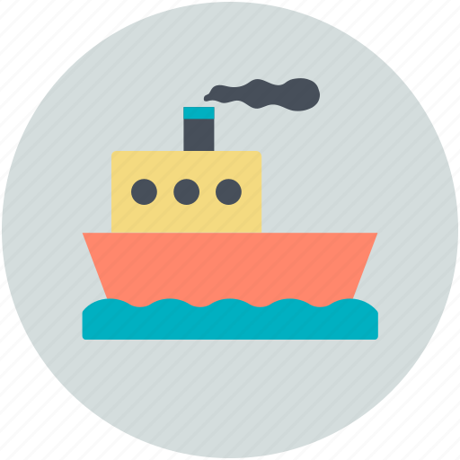 boat, cruise, ship, vessel, vessel ship icon