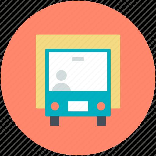 bus, public bus, public transport, public vehicle, tour bus icon