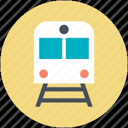 passenger train, railway transportation, retro train, train, voyage icon