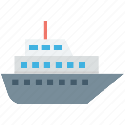 cruise, merchant ship, sailboat, ship, yacht icon
