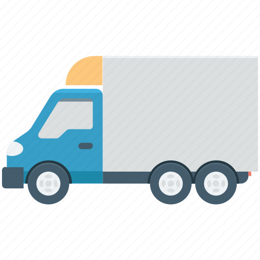 cargo, delivery van, shipment, shipping truck, vehicle icon
