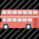 bus, double decker, double bus, transport, vehicle