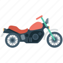 bike, motor bike, motorcycle, sports bike, transport icon
