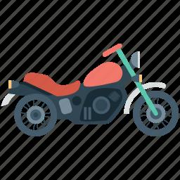 bike, motor bike, motorcycle, sports bike, transport icon