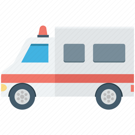 ambulance, ambulance car, emergency vehicle, rescue, siren icon