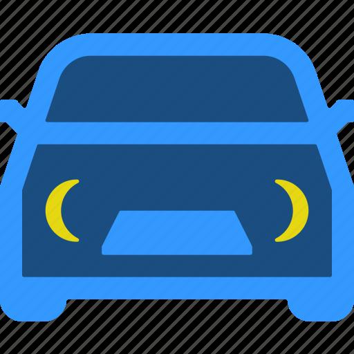 drive, night, shift, silenced icon
