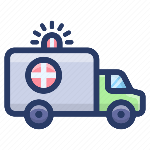 ambulance, emergency services, healthcare service, hospital ambulance, medical transport icon