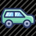 automobile, car, conveyance, mini car, transport, vehicle icon