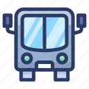 automobile, bus, conveyance, public transport, transport, van, vehicle icon