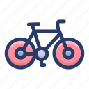 bicycle, conveyance, cycle, ride, transport, vehicle icon