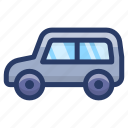 automobile, car, conveyance, transport, vehicle icon