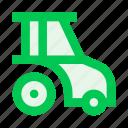 agriculture, agrimotor, farm, farming, garden, gardening, tractor icon
