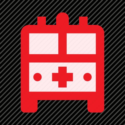 ambulance, emergency, health, healthcare, hospital, medical, pharmacy icon