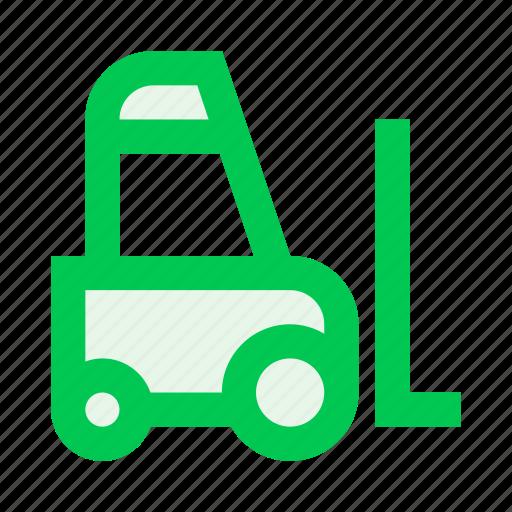 loader, transport, transportation, truck, vehicle, warehouse icon
