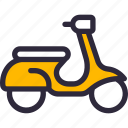motorbike, scooter, vehicle