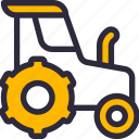 farming, tractor, vehicle