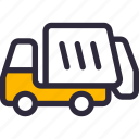 collector, garbage, truck icon