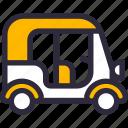 auto, rickshaw, vehicle