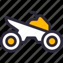 atv, car, sports