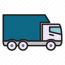 cargo, delivery, lorry, transportation, truck icon