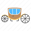 buggy, horse carriage, royal, royal buggy, royal carriage, transport, wagon icon