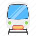 heavy rail, rapid transit, subway train icon