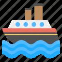 cargo ship, logistic ship, shipment, shipping, watercraft