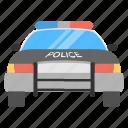car, cop car, cop vehicle, police car, police seaden icon