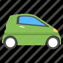 automobile, car, economy car, electric car, micro car icon