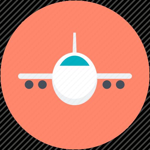 Aeroplane, airliner, airplane, passenger plane, plane icon - Download on Iconfinder