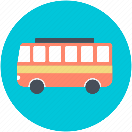 Coach, omnibus, tour bus, transport, vehicle icon - Download on Iconfinder
