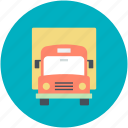 delivery, logistic truck, lorry, shipping, truck icon