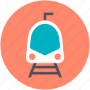 locomotive, subway, train, tram, tramway icon