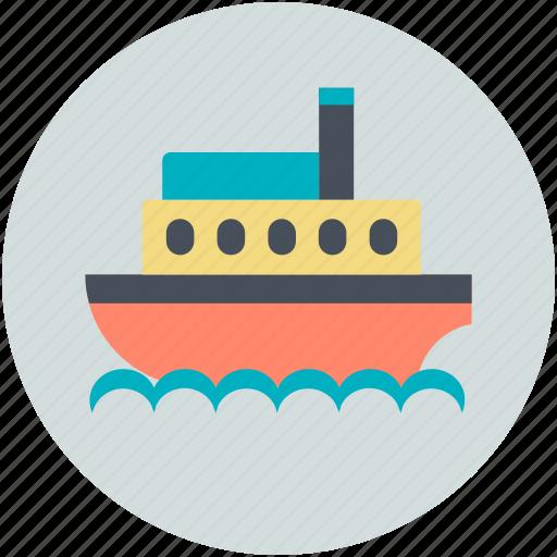 cruise liner, cruise ship, floating hotel, luxury liner, transport icon