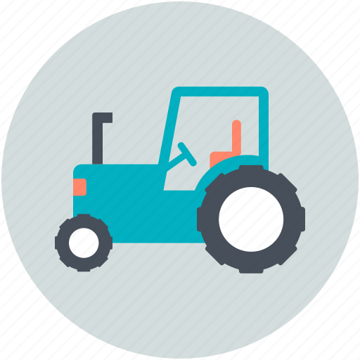 Agriculture, farm tractor, tractor, transport, transportation icon - Download on Iconfinder