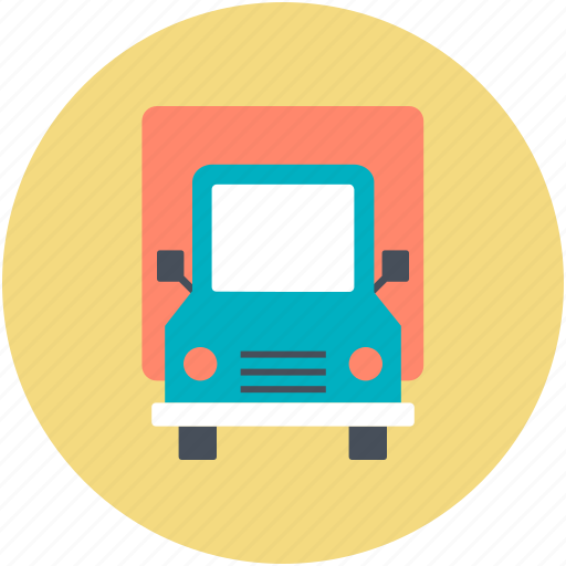 Cargo truck, delivery truck, freight, logistic delivery, shipping truck icon - Download on Iconfinder