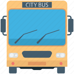 bus, city bus, transport, travel, vehicle icon