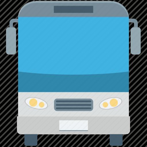 bus, public bus, transport, travel, vehicle icon