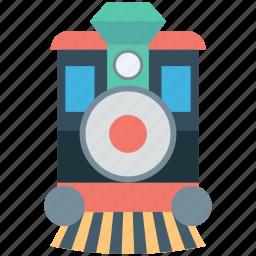 engine, locomotive, steam engine, train, travel icon