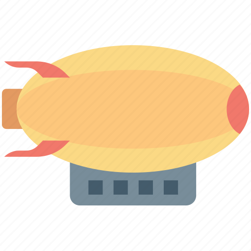aerial, aerostat, airplane, airship, blimps icon