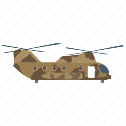 apache, fly, gunship helicopter, military helicopter, transport icon
