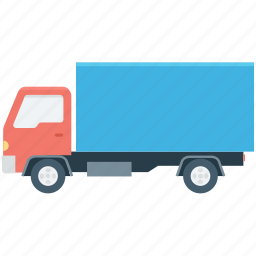 cargo truck, delivery truck, freight, logistic delivery, shipping truck icon