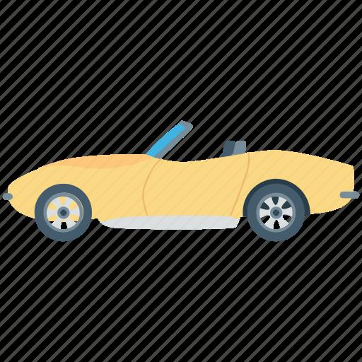 automobile, car, ferrari, roofless car, sports car icon